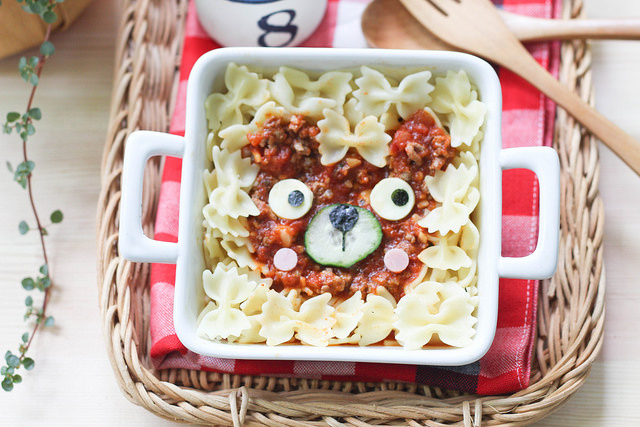 Bento Monsters Bärchen Pasta