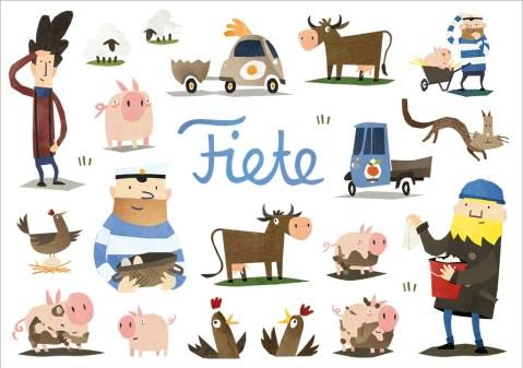 Fiete App Bauernhof-Sticker
