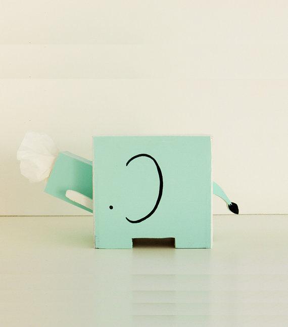 Taschentuch-Box Elefant