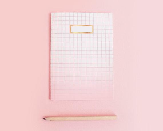 rosa ombre Notizbuch auf Etsy