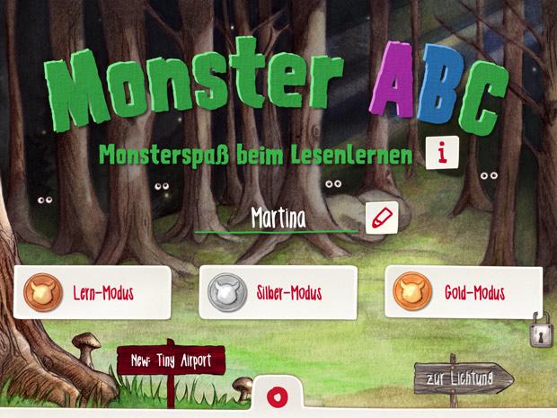 Alphabet Lern App für Kinder