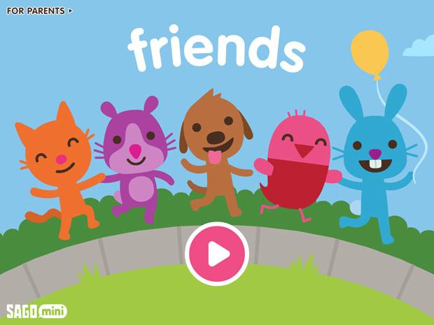 Mini Game App für Kinder