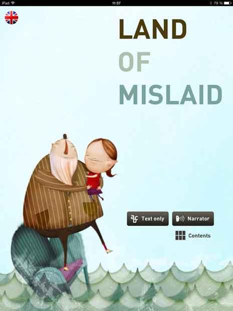 Kinderbuch App über Phantasie, Familie und einen verlorenen Pfefferminz Bonbon