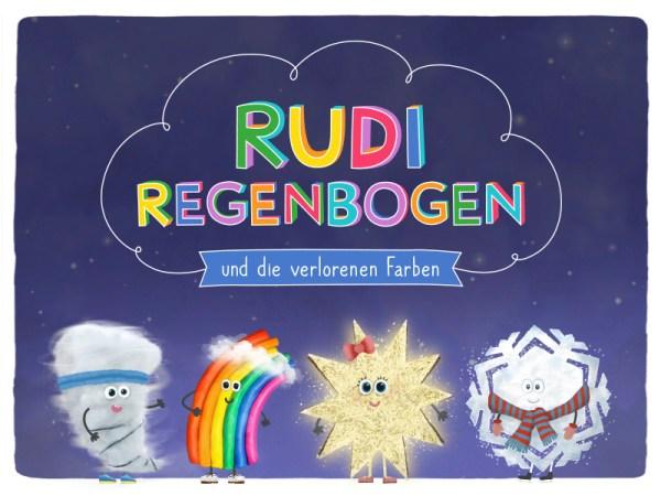 Rudi Regenbogen Kinderbuch App Titel