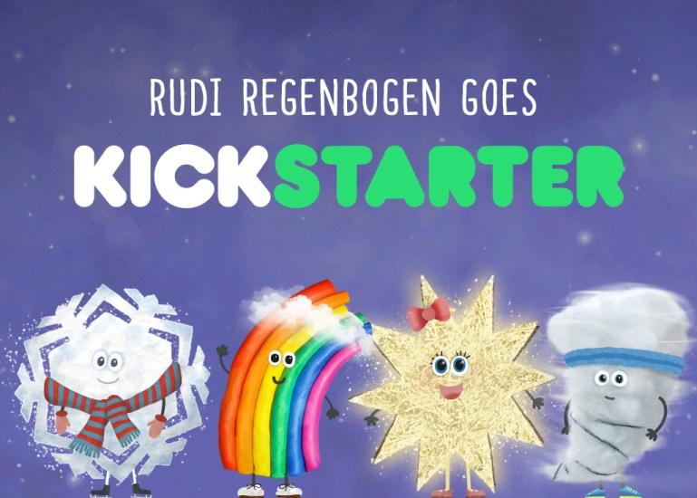 Rudi Regenbogen Kinder App auf Kickstarter