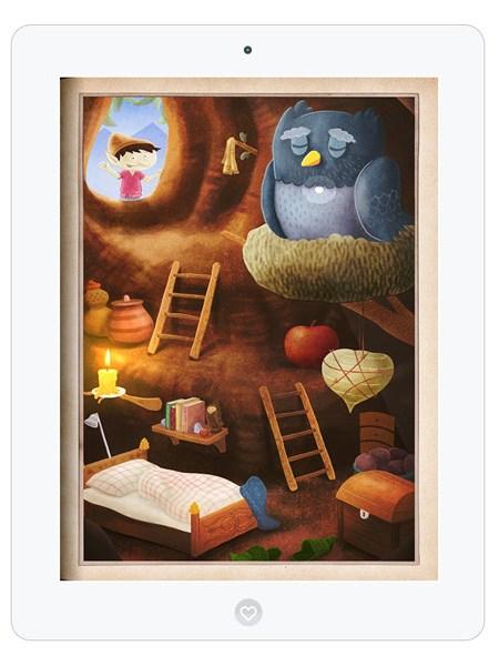 Zauberhafte Kinderbuch App mit Gnomen und Trollen