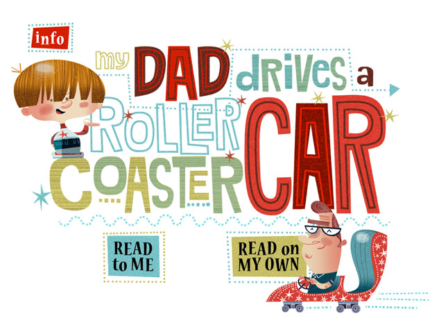 Niedliche englische Kinderbuch App