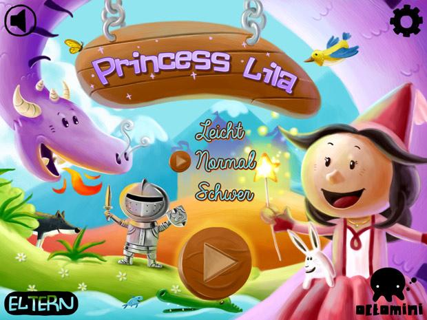 Lern App mit Minispielen für Grundschulkinder