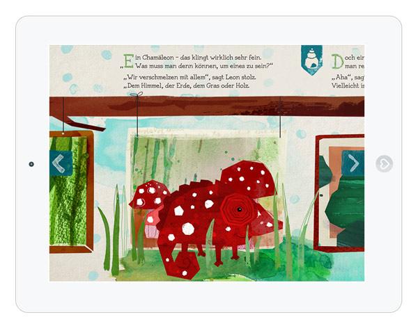 Kinderbuch App über Selbstfindung