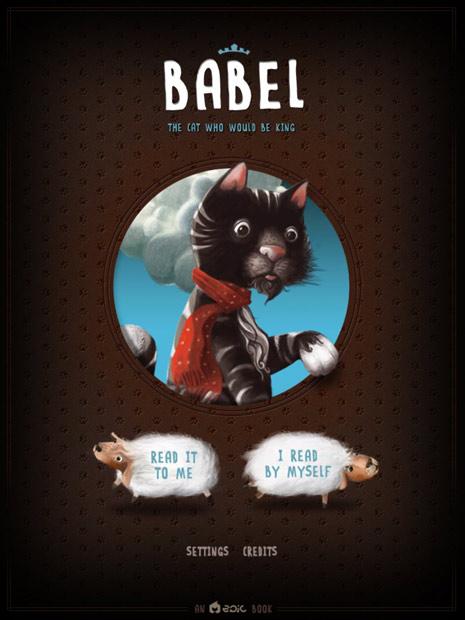 englische, interaktive Kinderbuch App