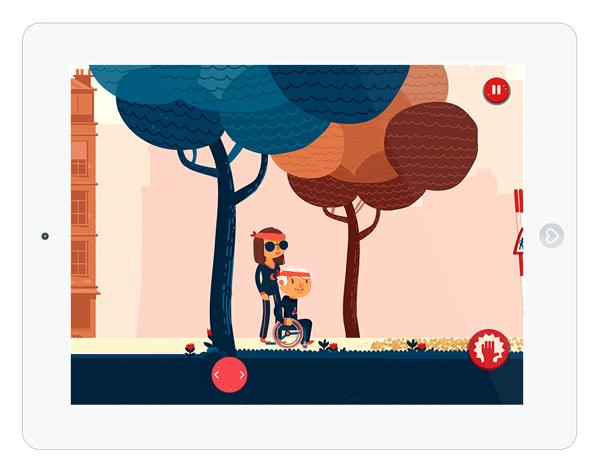 Logikspiele App für Grundschulkinder über Behinderung