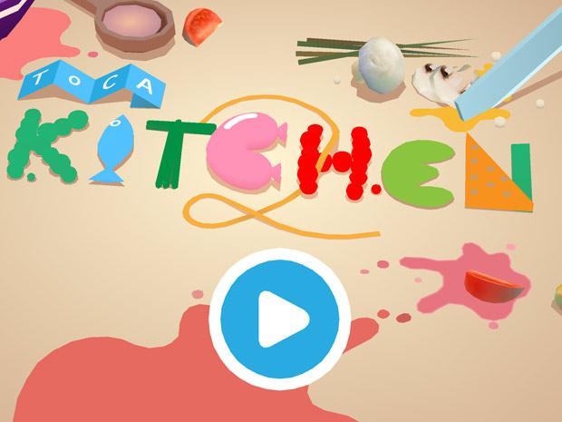Kinder Spiele App übers Kochen, Braten und Essen