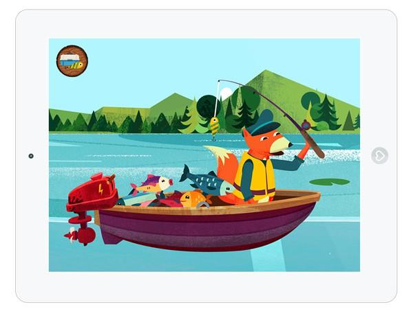 Kapu Fishing Angeln auf dem iPad