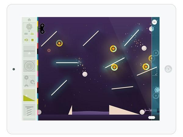 Kinder Spiele App über Physik