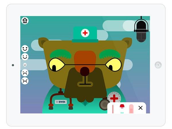 Witzige Spiele App für Kreative