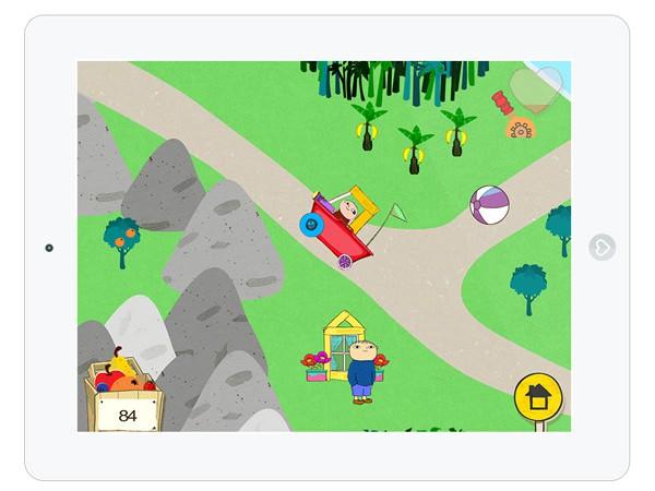 bauen, malen und entdecken mit der Spiele App