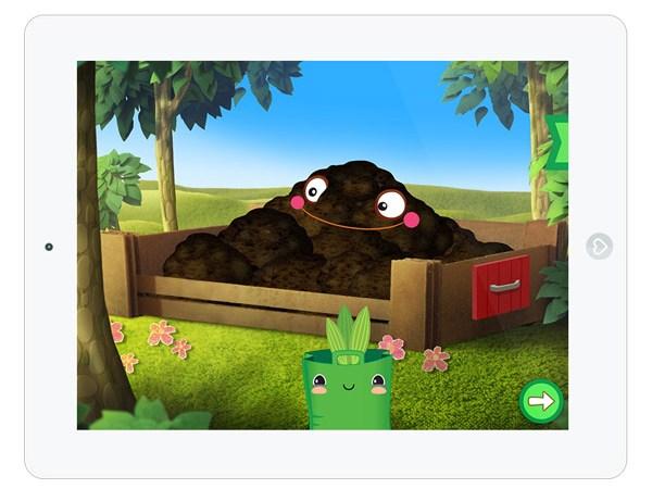 App für Kinder über Biologie und Gärtnern