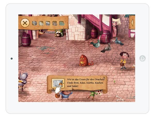 Schöne Wimmelbuch App für Kinder