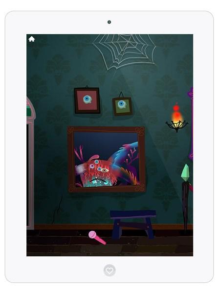 Schöne Kinder App zum Monster erschaffen