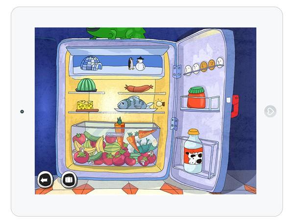 Kinderapp zum Lesen mit Suchspiel