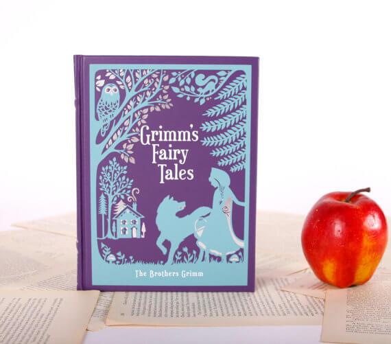 iPad Hüllen aus alten Büchern – Grimms Märchen Buch