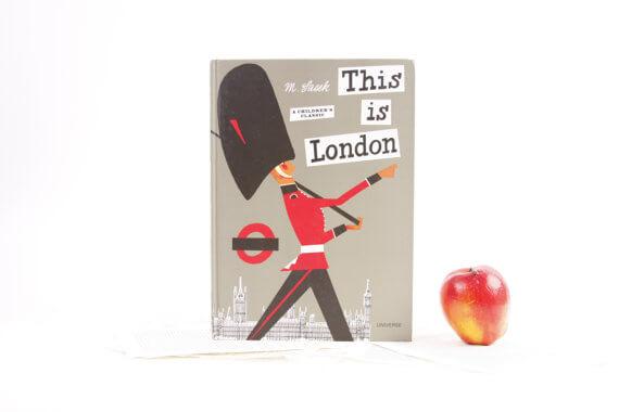 iPad Hüllen aus alten Büchern – This is London