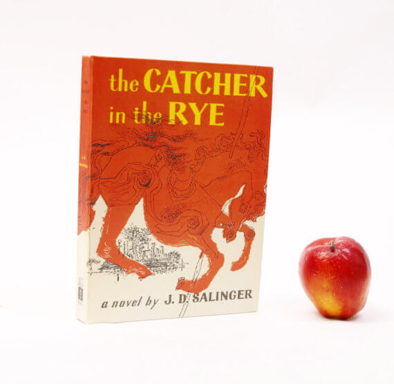 iPad Hüllen aus alten Büchern – Catcher in the Rye