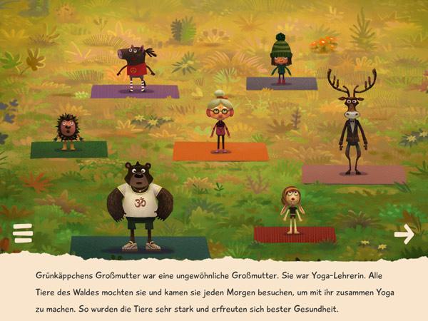 Bio Märchen App über gesunde Lebensweise