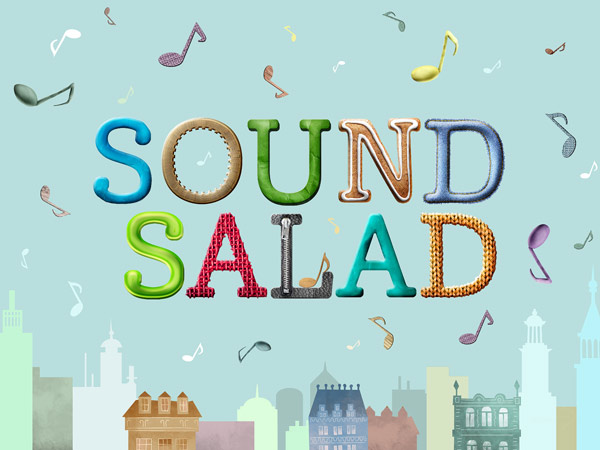Geräusche zuordnen mit der schönen Kinderapp Sound Salad