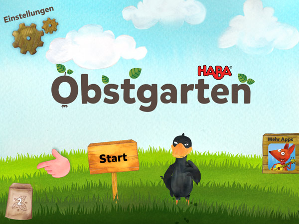 Obstgarten: die App zum Brettspiel-Klassiker