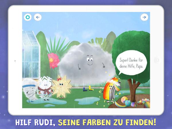 Wetter-Lern-App und Kinderbuch fürs iPad