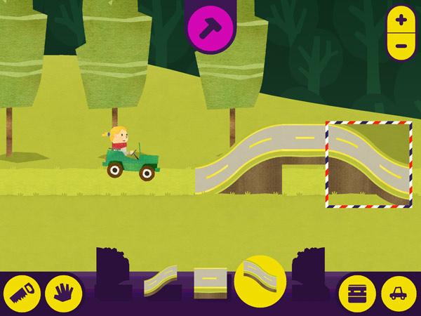 Autofahr App für Kleinkinder mit Seemann Fiete