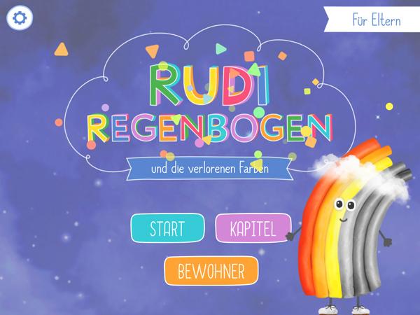 Rudi Regenbogen: Unsere Kinderbuch- und Lern-App über das Wetter ist da!