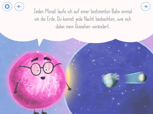 Interaktive Kinderbuch-App Rudi Regenbogen – Manfred Mond