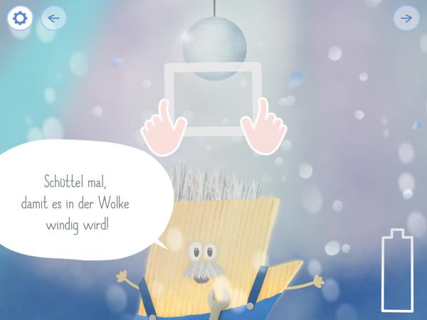 Interaktive Kinderbuch-App Rudi Regenbogen – Bruno Blitz