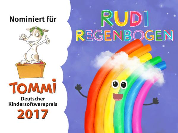 Rudi Regenbogen: Unsere Kinderbuch und Lern-App über das Wetter und den Weltraum