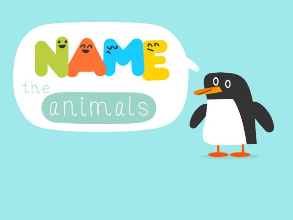 Name the animals: Tierische Englisch Lern App für Grundschulkinder
