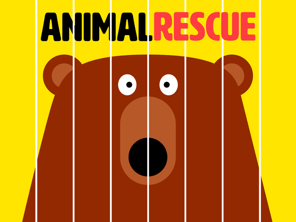 Animal Rescue Book: schöne, tiefgründige Bilderbuch App über Tierschutz