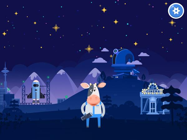 Tolle Kinder App über das Universium und Sonnensystem