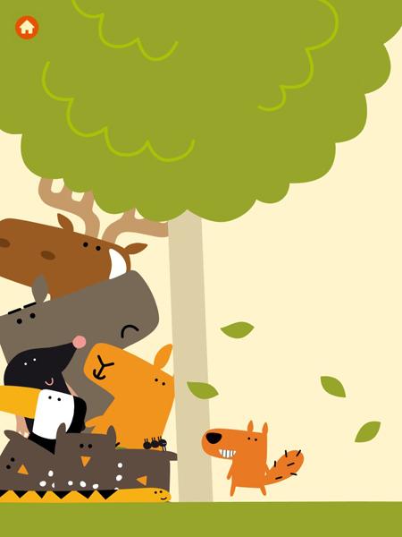 lustiges Handyspiel und iPad Game für Kleinkinder