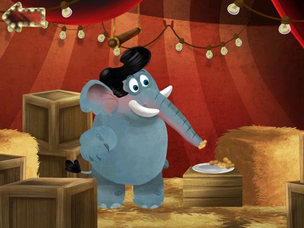 Lustige Kinder App für Vorschulkinder zum Tiere füttern