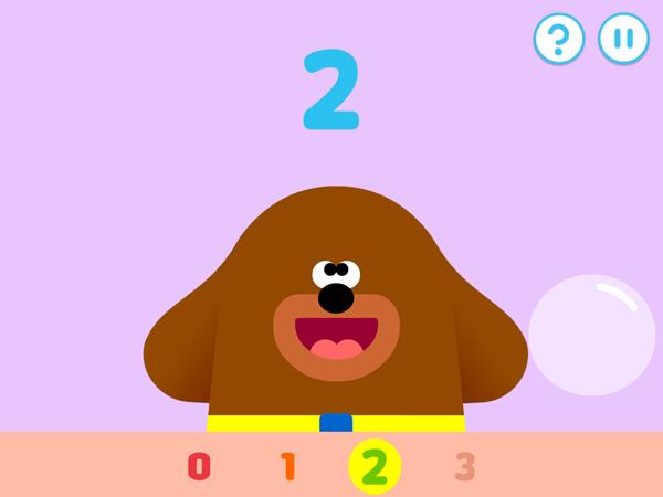 Hey Duggee Counting Badge: putzige Zahlen App für die Kleinsten