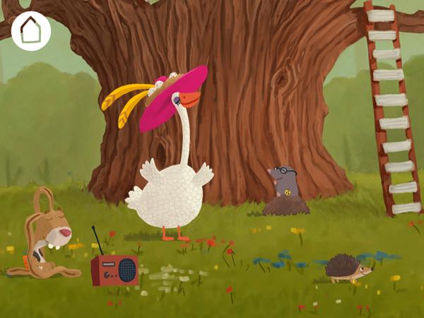 Schöne Erlebnis Kinder Bilderbuch App für Vorschulkinder