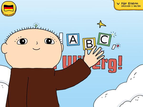 Spiel ABC Willi Wiberg: eine tolle Kinder App zum Alphabet-Lernen