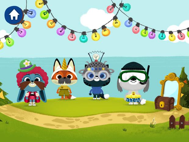 kostenlose spiele app für Kleinkinder zum Verkleiden