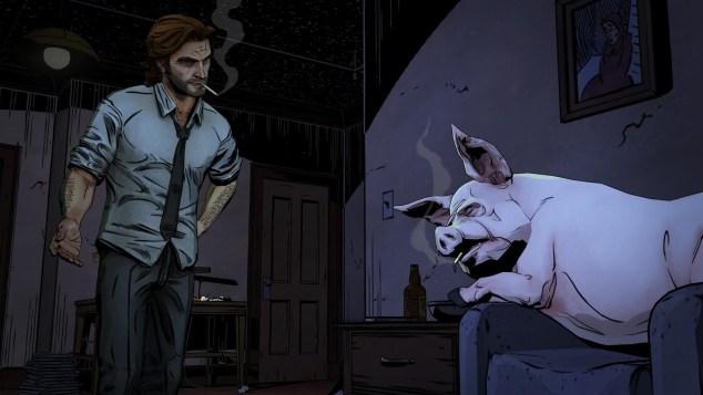 Nenhum personagem em Tales From the Borderlands é tão fantástico como o inimitável Bigby Wolf de The Wolf Amoung Us. Mas quase.