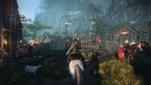 """As cidades, aldeias e vilas são as mais ricas do género, verdadeiramente """"habitadas"""" por personagens que parecem estar lá pelos seu próprio propósitos, não apenas para fazer cenário para a passagem do jogador."""