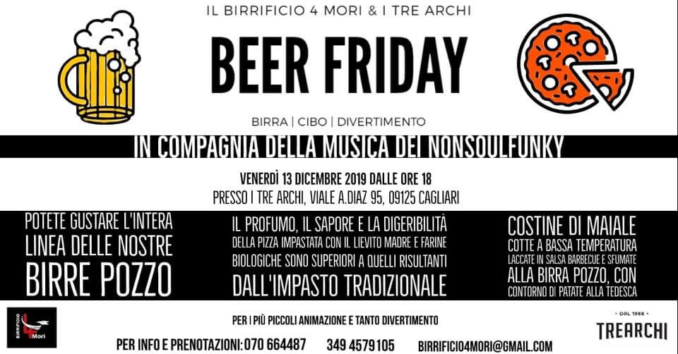 Beer Friday ai Tre Archi con Birrificio 4Mori