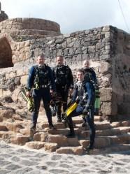 Juan, Javier, Joni y Eli en Los Silos - IMG_5823