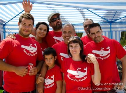 20110918 1323 - Adrián, Javi Malacologo, Julio Díaz, Las Eras, Mundi, Pez Garimba, Sacha